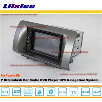 Liislee For Toyota Bb 2006 2012 Car Radio Stereo DVD Player GPS NAV HD Touch Screen