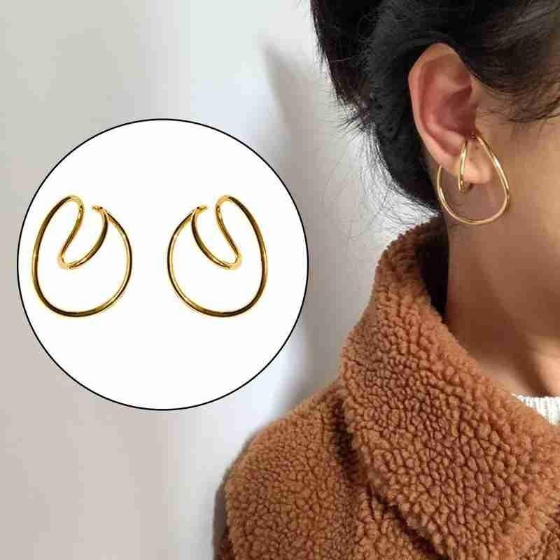 1pair Plum Clip Earrings Luxurious Multi Fake Piercing Clip Earring Ear Cuffs For Non Pierced For Women Jewelry Gift Earring|Clip Earrings|   - AliExpress