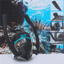 New Diving Mask Scuba Underwater Anti Fog Full Face Snorkeling For Women Men Swimming Snorkel Equipment