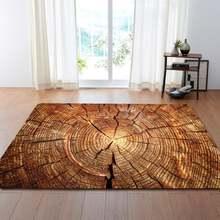 3d деревянные коврики большой салон спальни креативные декоративные