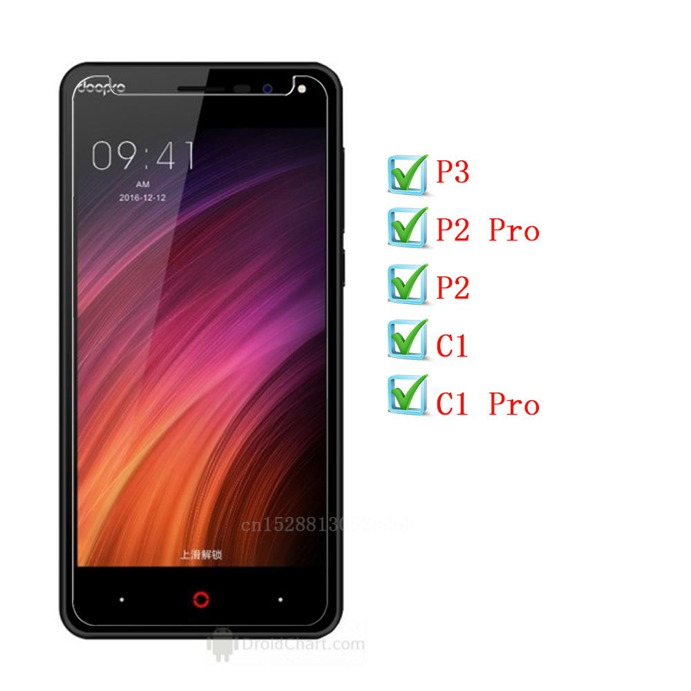 Doopro C1 <font><b>P3</b></font> <font><b>Pro</b></font> Tempered Glass Protective Film For Doopro P2 <font><b>Pro</b></font> Glass Screen Protector Mobile Phone Film image