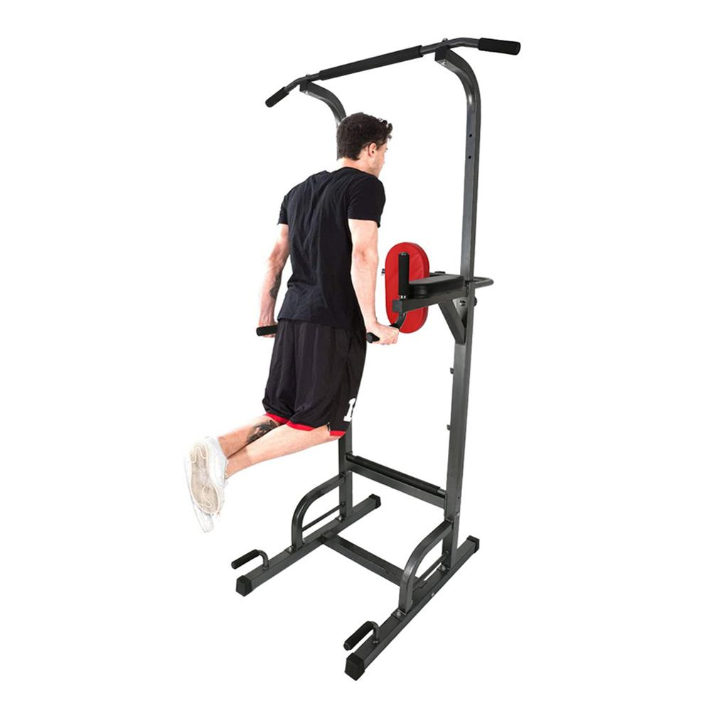 Power Tower Home Pull Up Bar Stand Adjustable Multi-Function Fitness Equipment Workout Station image