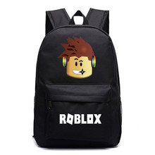 2019 Robloxer game casual backpack for teenagers Kids Boys  Unisex Laptop Bags  Children Student School Bags travel Shoulder Bag недорого