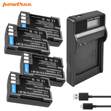 Powtree BLM-1 Li-ion Battery 7.2V 1800mAh+LCD Battery Charger with LED FOR OLYMPUS BLM1 BLM-1 BLM 1 E-3 E-500 E-30 E-510 E-330
