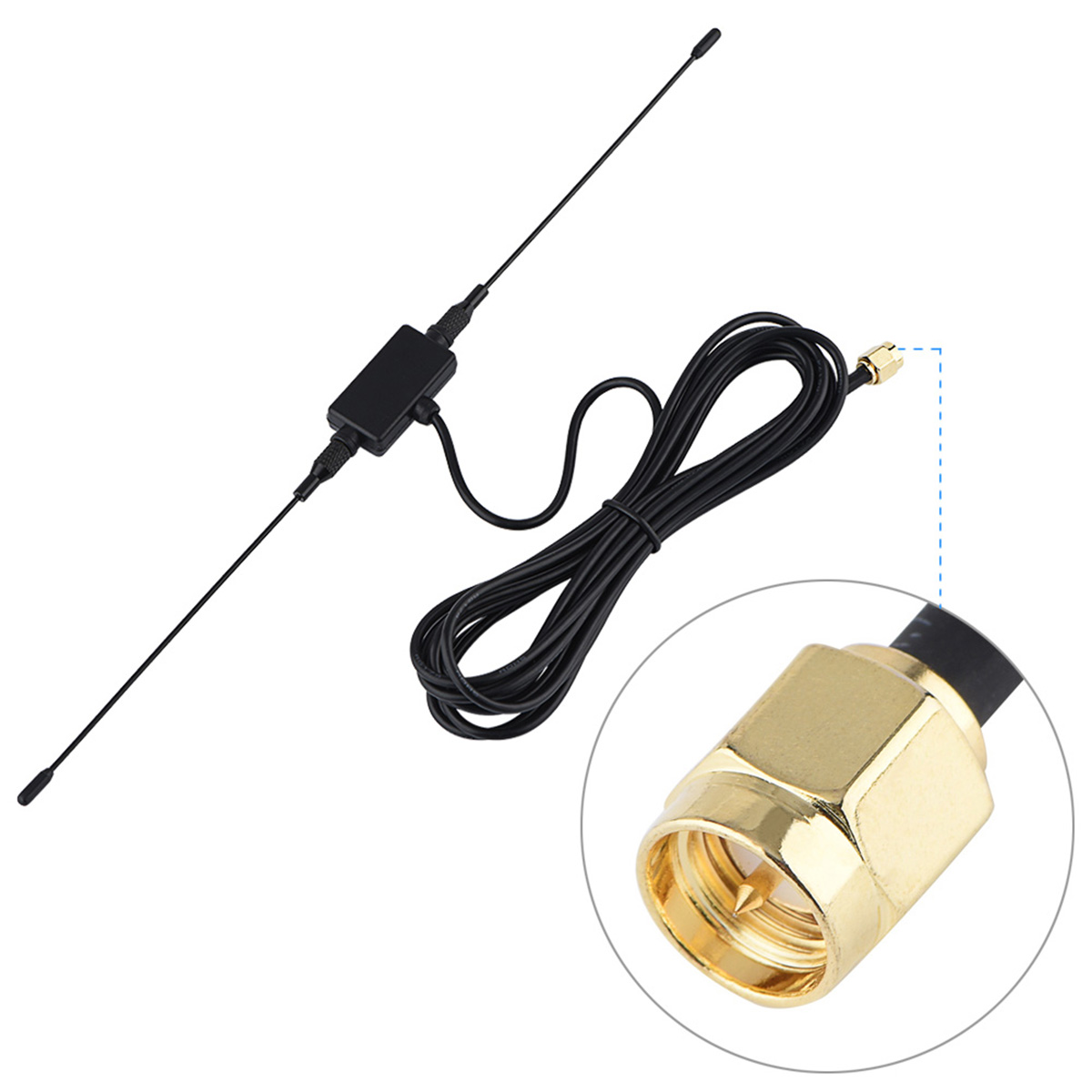 SOONHUA 118in 433MHZ GSM GPRS SMA Male Plug Horn Antenna Signal Amplifier SMA Horn Antenna Cable SMA Male Plug Horn Antennas(China)