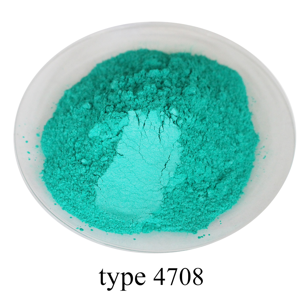 Pearl Powder Coating Mineral Mica Dust DIY Dye Colorant 50g Type 4708 For Soap Eye Shadow Cars Art Crafts Acrylic Paint Pigment