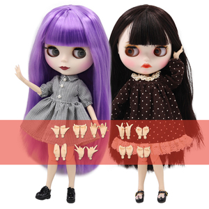 ICY factory blyth doll 30cm 1/6 BJD fashion Cute normal/joint body extra gift hand AB , girls gift ICY special price(China)