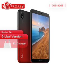"In Stock Global Version Xiaomi Redmi 7A 7 A 2GB 32GB 5.45"" Snapdargon 439 Octa core Mobile Phone 12MP Camera 4000mAh Smartphone"