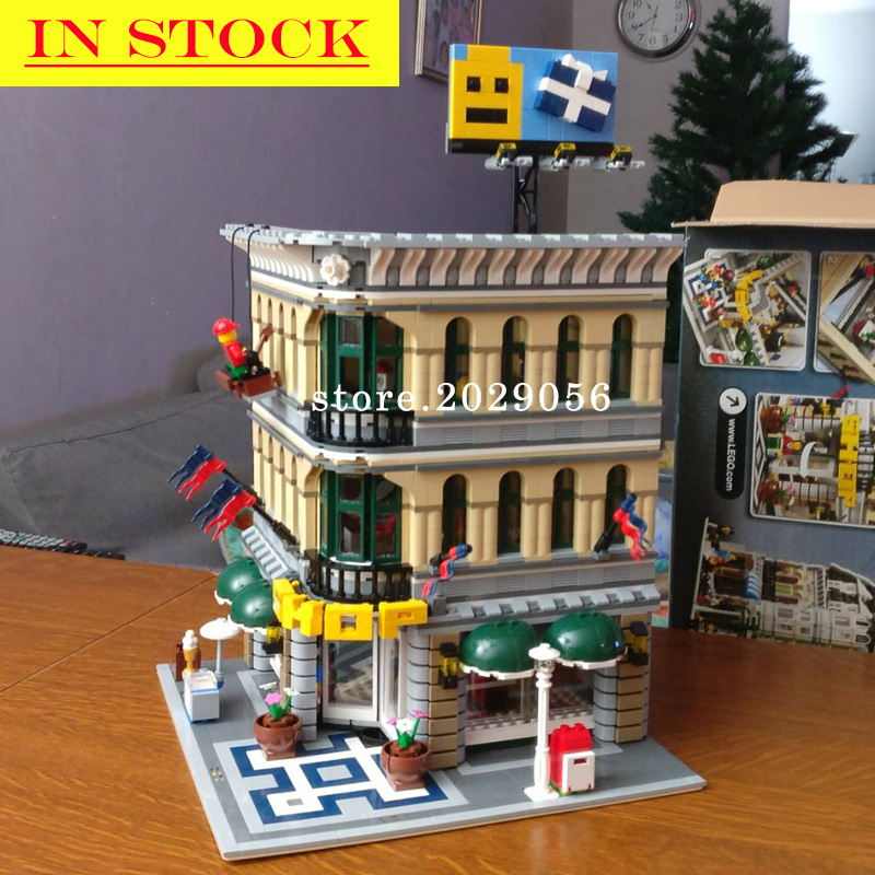 15005 Street View Creator Series Grand Emporium Building Blocks 10211 10272 15037 15019 15001 45014 17004 17008 17006 15014