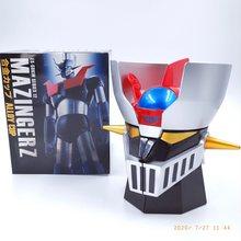 Ready Player – Robot de Transformation créatif MAZINGER Z, 420ml PC + tasses en acier inoxydable, tasse d'eau de bureau