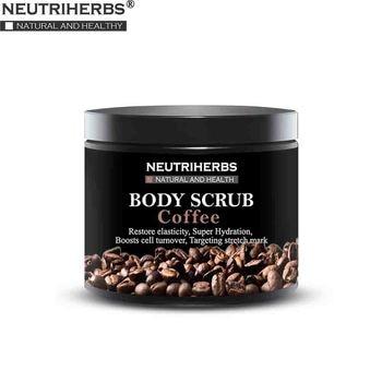 Neutriherbs Facial Body Coffee Scrub for Exfoliating Whitening Moisturizing Anti Cellulite Treatment Acne 200g 200g