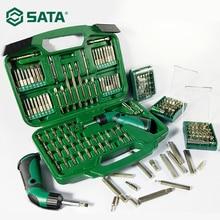 SATA Hexagon Bit Set 8/6.3mm Screwdriver Cross Electric Pneumatic cutter head
