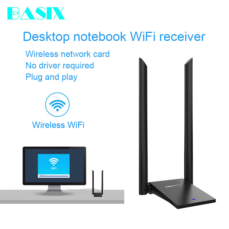Worldwide delivery wifi usb adapter long distance in Adapter