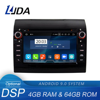 LJDA Android 9.0 Car Multimedia Player For Fiat Ducato Citroen Jumper Peugeot Boxer GPS Stereo 1Din Car Radio 4G+64G Stereo WIFI