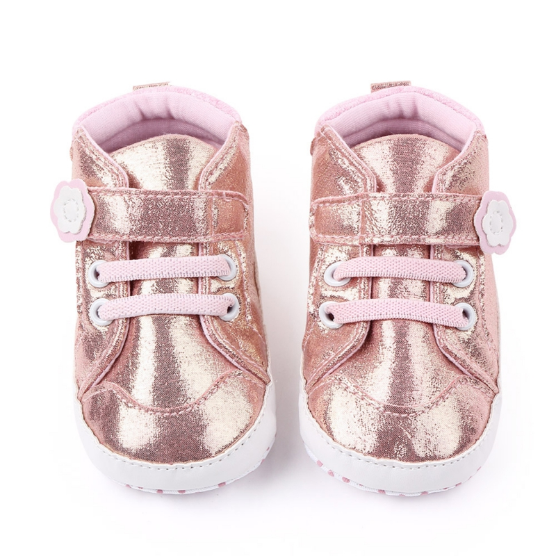 Baby Girl Infant Spring Toddler Shoes Cute Chaussure Bebe Fille Flower Print Pattern Velcro Anti-slip Soft-soled Zapatos Bebe