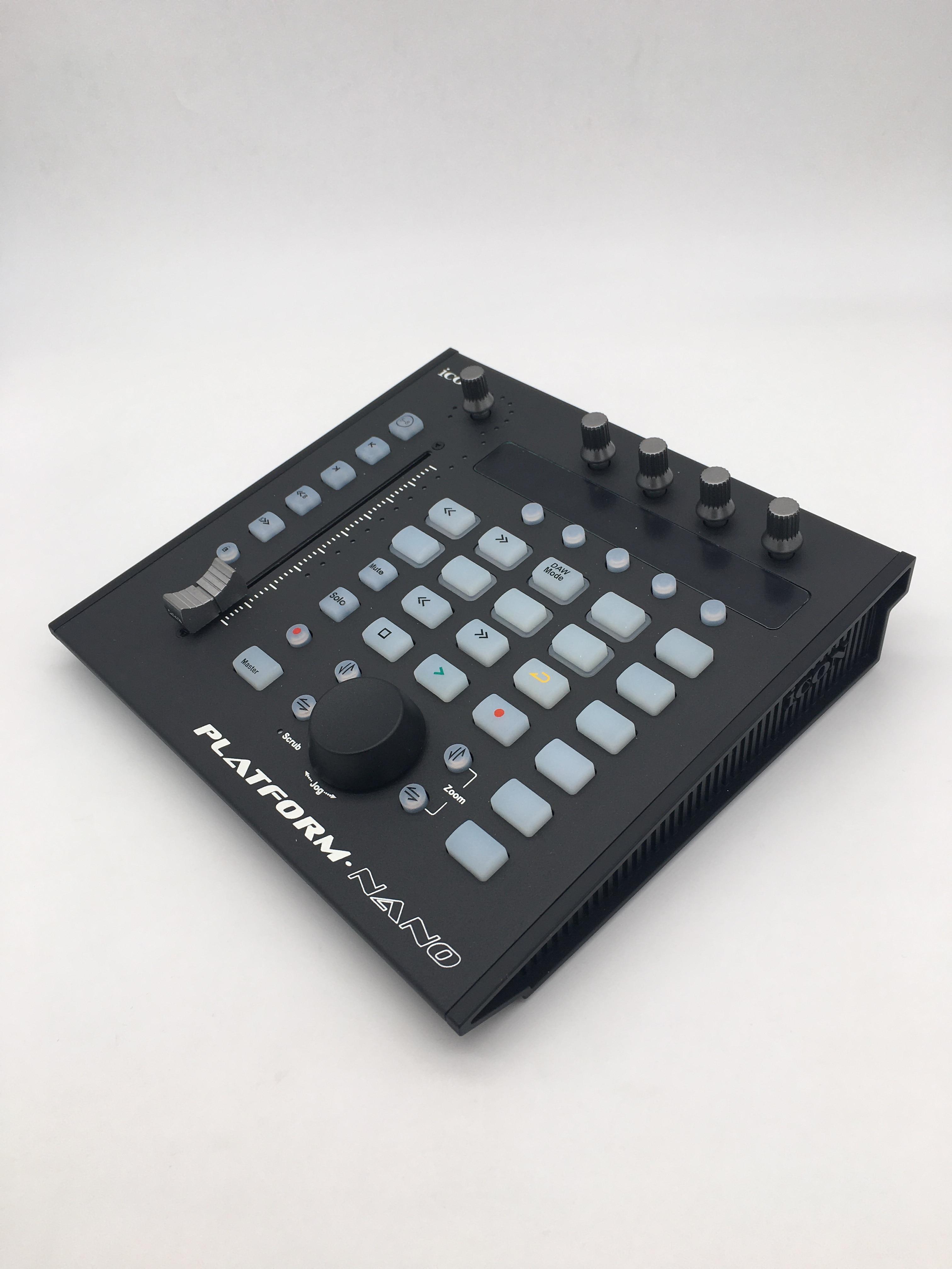 Icon i-Controls black Controller DAW-Controller Fader USB MIDI Studio DJ