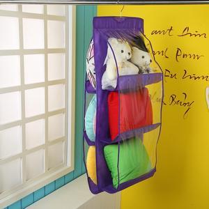 Image 5 - Wardrobe Organizer Closet Organizer Hainging Pocket Shoes Cushion Pillow Cabinet Clothes Storage Fabric Shoe Storage Rack Shelf