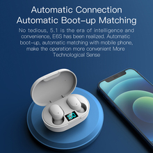 E6S ไร้สาย TWS Bluetooth 5.0หูฟังมินิหูฟังและชาร์จกล่องกีฬาชุดหูฟังสำหรับ Xiaomi สมาร์ทโฟน