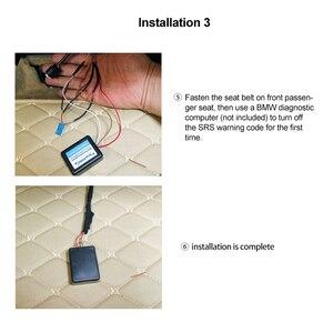 Подушка безопасности сенсор эмулятор сиденье пассажира заполнение мат Обход для BMW E60 E90 X5 X6