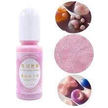 Pigment de résine 24 couleurs, colorant brillant de rêve, liquide nacré époxy 10ml, fabrication de bijoux, bricolage