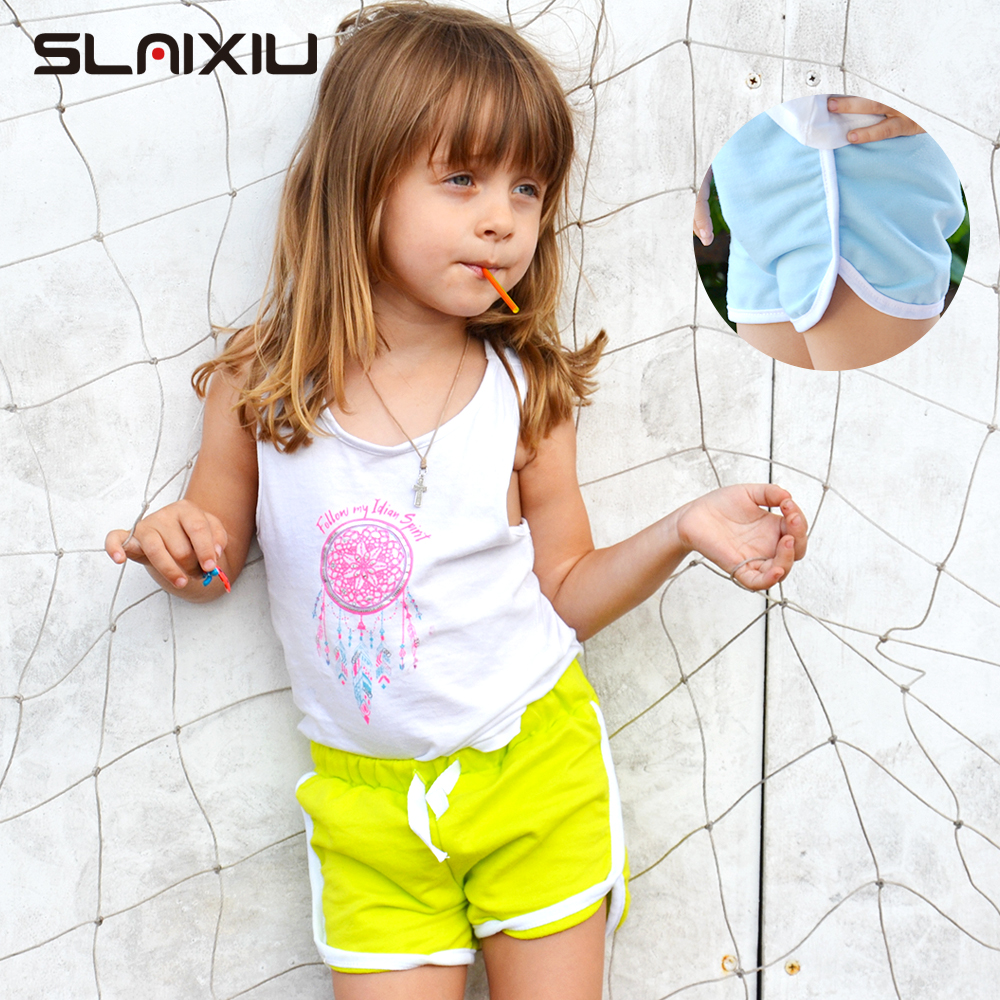 3-13Y Pure Color Kids Boys Shorts Panties Soft Cotton Baby Boxer Children's Clothes Teenager Underwear Girls Sport Underwear