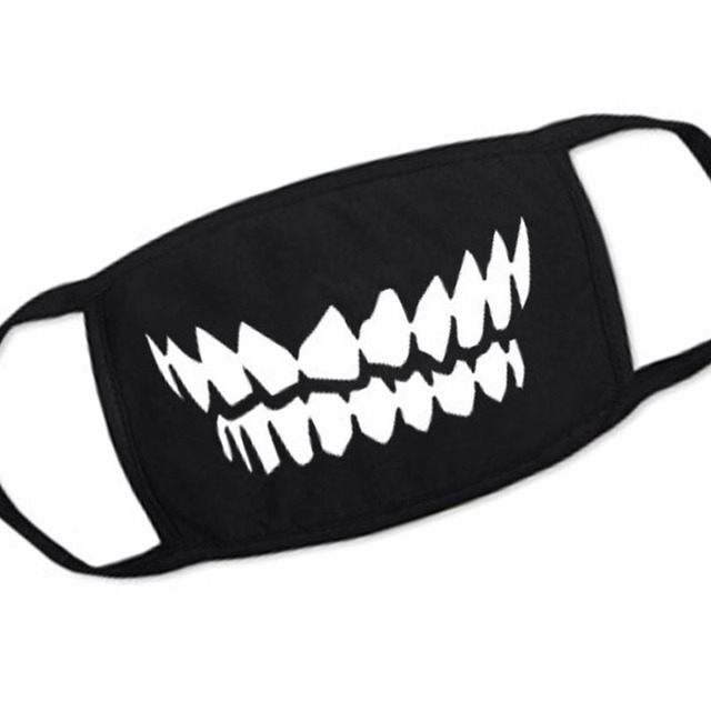 1PC Cartoon Lovely Cotton Mouth Face Masks Keep Warm Women Men Clothing Accessories Anti-dust Pollution Unisex Anime Mouth Masks 4