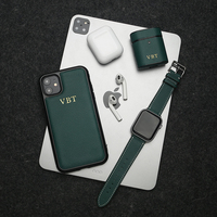 Horologii Personalized Initials Custom Mobile Phone Housing Case for Iphone 7 8 10 X XS XR 11 12 Pro Max Cover Dropship