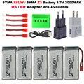 3,7 в 2000 мАч модернизированная батарея/USB зарядное устройство (5 в 1) для SYMA Z3/X5UW RC Drone RC Quadcopter запасные части