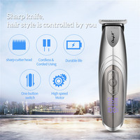 LED Digital 2 in 1 Rotatory Blade Hair Clipper 4 Speeds adjusted Professional Rechargeable Hair Trimmer for Adults Kids P42