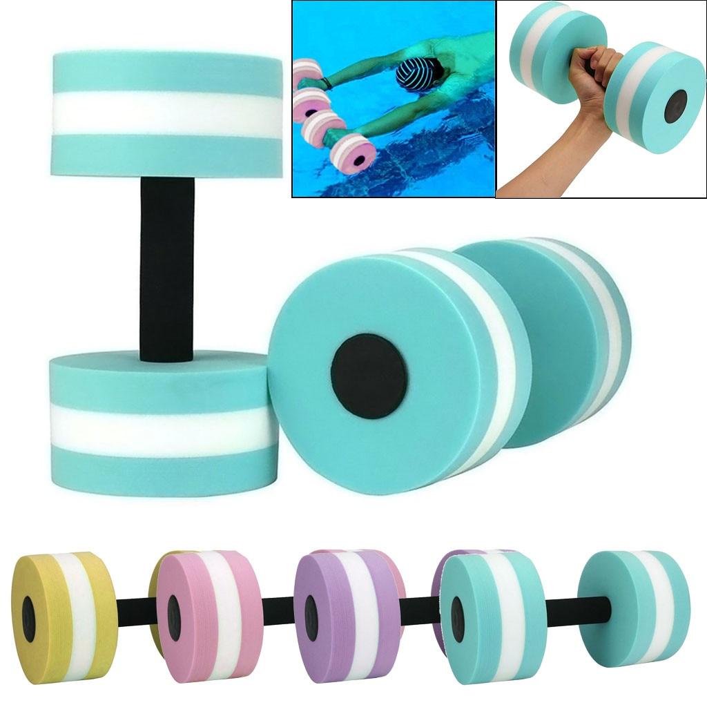 1 paar Wasser von Hanteln Aquatische Barbell Fitness Training Aerobic Hantel Gewichte Schwimmen Fitness Pool Exercis Workout Medium