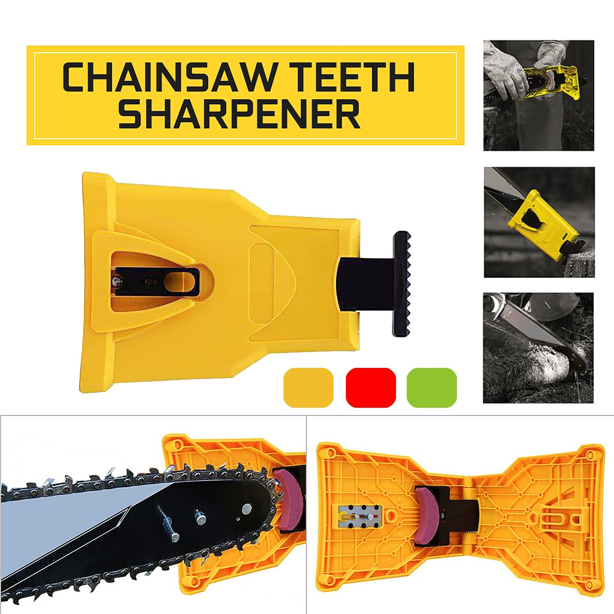 Chainsaw S Sharpener Self Sharpening Grinder S Sharpening Electric  Chain Saw Chain Sharpener Woodworking Tools
