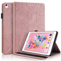 Luxury Flip Stand PU Leather Wallet Case Protective Cover for Samsung Galaxy Tab A 10.5 2018 SM- T590 T595 T597 with Card Holder