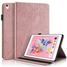 Tablet Case for Samsung Galaxy Tab A 10.1 2019 T510 T515 Stand Folio Case Tab A7 T500 S6 P610 S7 S7+ Case Cover Rose-gold