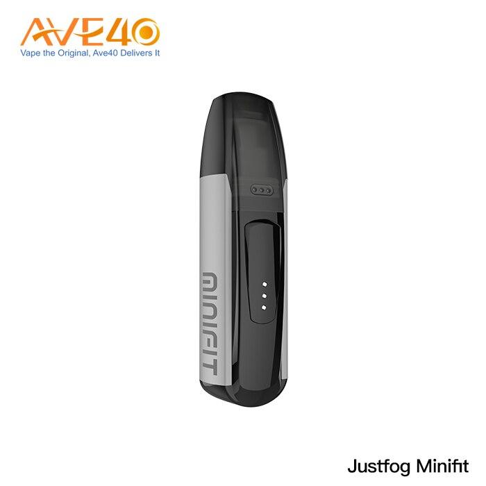 New Justfog Minifit Kit Vape 370mah Pod System Electronic Cigarettes All In One Vape Kit 1.5ml Pod Cartridge VS Justfog C601