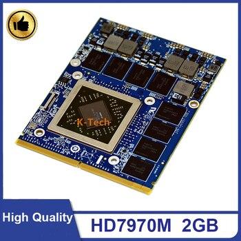 Oryginalny HD7970M HD 7970M HD7970 graficzna wideo karta VGA 216-0836036 2GB dla Laptop Dell Alienware M17X M18X R1 R2 R3 szybka wysyłka