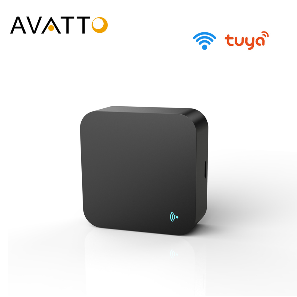AVATTO S06 Mini WiFi IR Remote for Air Conditioner TV Smart Home Automation Universal Remote Controller for AlexaGoogle Home