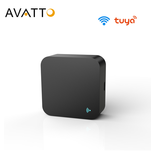 AVATTO S06 Mini WiFi IR Remote for Air Conditioner TV, Smart Home Automation Universal Remote Controller for Alexa,Google Home