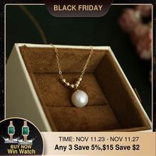 Natürliche Perle Choker Gold Gefüllt Halskette Handgemachte Vintage Charme Schmuck Collier Bijoux Femme Collares Boho Halskette Für Frauen