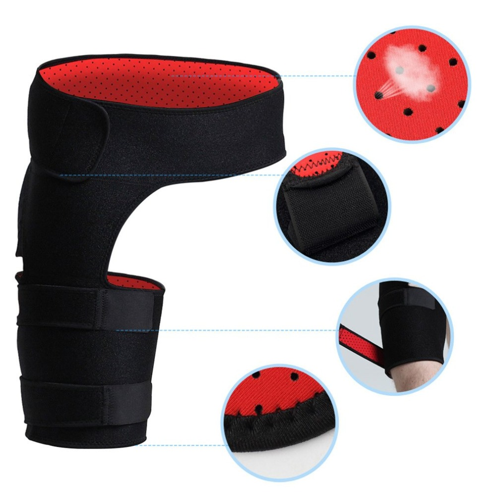 Breathable Anti-muscle Strain Diaper Protector Thigh Groin With Sports Safety Healht Care
