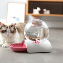 Pet Automatic Water Dispenser Cat Dog Feeder Fountain Bubble Automatic Cats Water Fountain Large Drinking Bowl For Cat Pets pet water dispenser with base snails shaped bubble automatic cat water bowl fountain large drinking bowl with filtration system