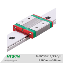 Free Shipping HIWIN MGN MGW Linear Guide MGN7 MGN9 MGN12 MGN15 Carriages 300 350 400 450 500 600 800mm Miniature CNC 3D Printer