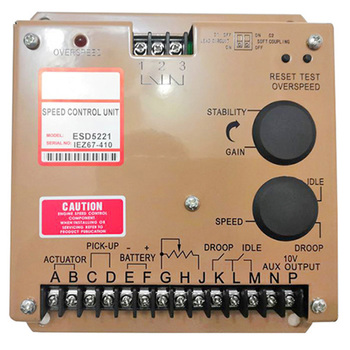 Engine Controller ESD5221 Speed Control Governor Unit Replace for Generator