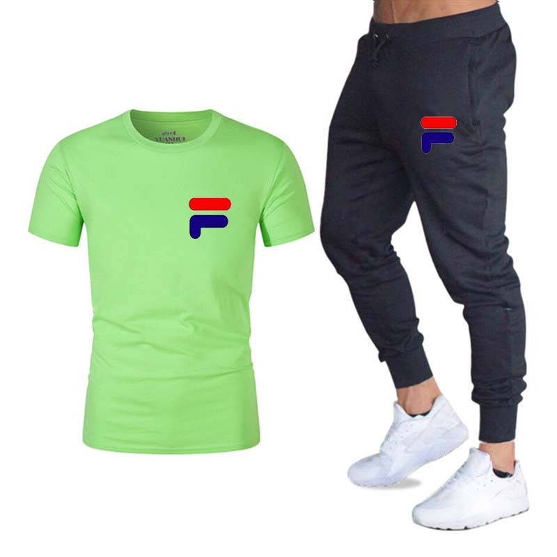 running - Pants Men Sweatpants+men running t-shirts men sets jogging Sportswear men Pants Gym Fitness Sportswear Tracksuit Training Pants
