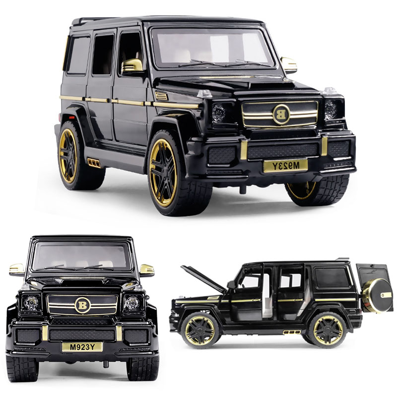 1:24 Mercedes-Benz Babs SUV Car Model Alloy Car Die Casting Car Toy Car Pull Back Car Children's Toy Collectibles Free Shipping