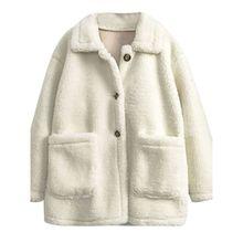 Куртка из ягненка женская осенне зимняя Милая хлопковая одежда