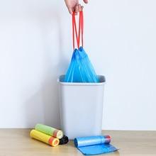 Автоматическое закрытие мешок для мусора, утолщенный, герметичный, одноразовый полиэтиленовый пакет, бытовая кухонная Чистка мусора мешок, сумка для хранения