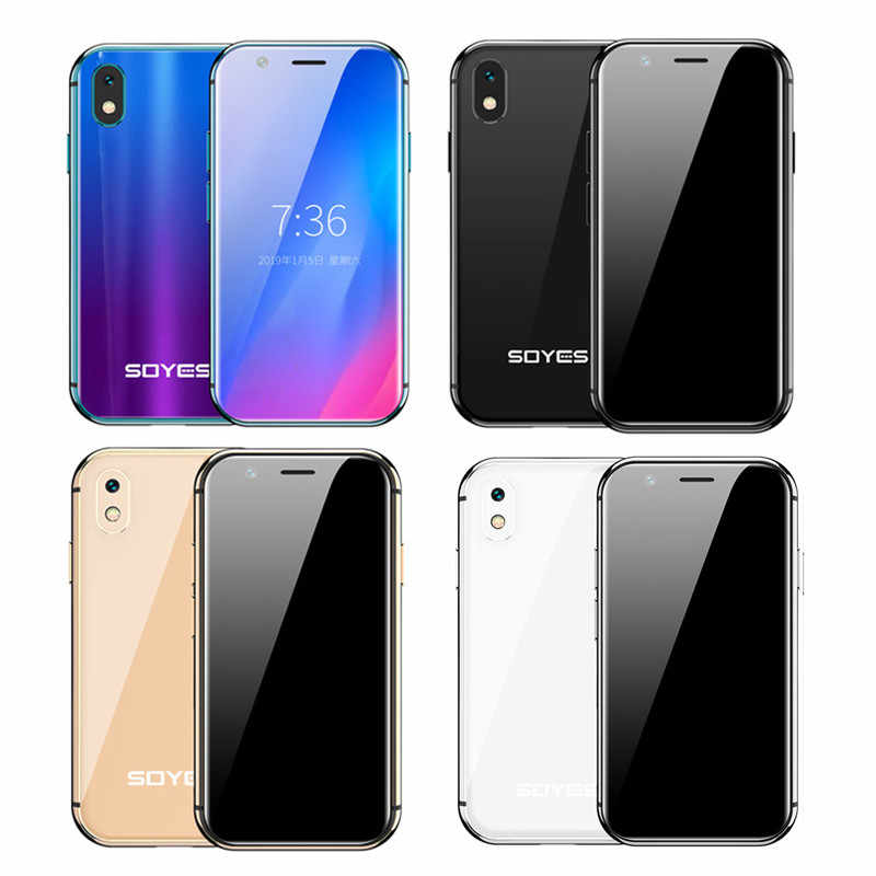 2019 Mini Smartphone SOYES XS 3'' 3GB+32GB 2GB+16B Android Face Recognion 1580mAh 4G Wifi Backup Pocket Cellphones PK 7S Melrose - AliExpress