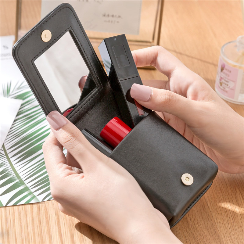 Fashion Mini Lipstick Bag Make Up Portable Travel Cosmetic Makeup Case Organizer Beauty Waterproof Toiletry Women Storage Pouch