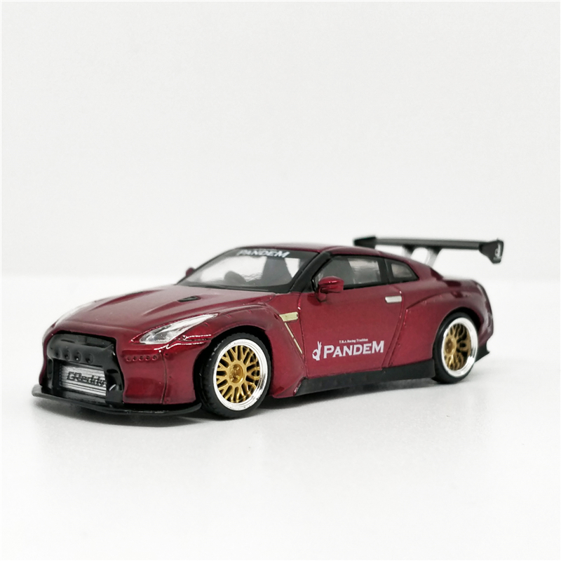 MINI GT 1:64 Pandem Nissan GT-R R35 RHD Diecast Model Car