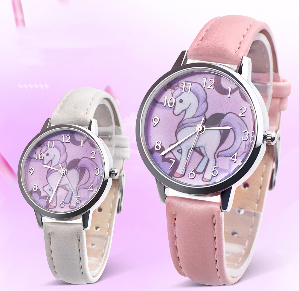 Kids Watches Girls 2019 New Relojes Cartoon Children Watch Princess Watches Fashion Kids Cute Rubber Leather Quartz Wa